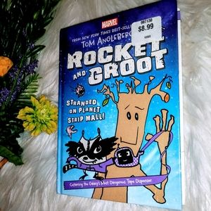 NEW! Marvel Rocket and Groot Book